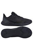 Nike Unisex Çocuk Siyah Koşu Ayakkabı Bq5671-001