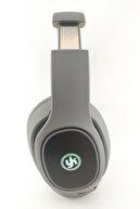 YK Design Kablosuz Rgb Led Işıklı Bluetooth Stereo Kulaklık Gri + Sd Kart Yk-811
