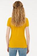US Polo Assn Sarı Kadın T-Shirt