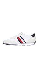 Tommy Hilfiger Erkek Beyaz Sneaker Essential Mesh Runner FM0FM03417
