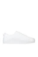 Tommy Hilfiger Kadın Beyaz Sneaker Shiny Flatform Vulc Sneaker FW0FW05536