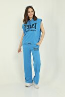 COMMFYY Kadın Mavi  Spor Eşofman Takımı