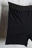 Line Smart 10' Erkek Pamuklu Siyah Boxer