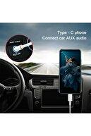Samsung Ipad Pro Xiaomi Huawei Uyumlu Type C To 3.5mm Aux Ses Jakı 25w 1m Adaptör Kablosu