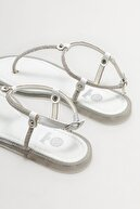 Elle Kadın Beyaz Parmak Arası Sandalet