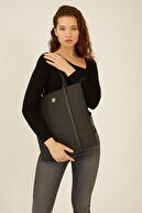 US Polo Assn Sıyah-sıyah Kadın Omuz Çantası Us8251