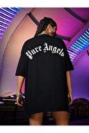 Black Sokak Kadın Oversize T-shirt