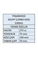 Paşabahçe 530041 Soupy Çorba Kasesi 275cc - 6 Adet