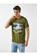 Koton Erkek Zeytin Yeşili T-Shirt