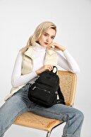 Smart Bags Smbyb1030-0001 Siyah Kadın Küçük Sırt Çantası