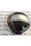 RS1 Dh 958 Yazlık Kask Matt Siyah Yıldızlı