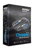 Everest Sm-770 Chopper Usb Siyah Oyun Gaming Oyuncu Mouse