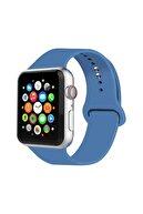 Cimricik Apple Watch Kordon 2 3 4 5 Seri 38 mm Ve 40 mm Silikon Kordon Kayış