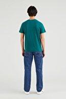 Levi's Housemark Graphic Erkek Yeşil Tişört