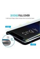 Simex Xiaomi Mi Note 10 Lite Tam Kaplayan Tamperli Cam Ekran Koruyucu + Uv Işık 3d Kırılmaz - Curved Glass