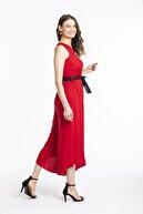 Pitti Kadın Kırmızı Tulum 40207