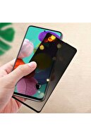 Samsung Fibaks Galaxy A31 Ekran Koruyucu Temperli Kırılmaz Cam Privacy Hayalet Gizliklik Filtreli