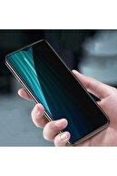 Samsung Fibaks Galaxy A10s Uyumlu Ekran Koruyucu Temperli Kırılmaz Cam Privacy Hayalet Gizliklik Filtreli