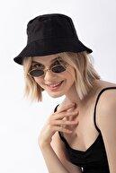 Ef Butik Siyah Balıkçı Şapka Bucket Hat