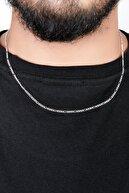 İn Dubai Silver Figaro 925 Ayar Gümüş Zincir 50 Cm Dbse2022