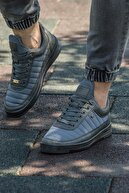 L.A Polo 077 Füme Siyah Summer Erkek Spor Ayakkabı