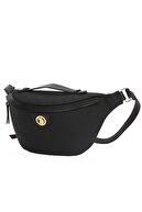 US Polo Assn Siyah Kadın Bel Çantası Us8107