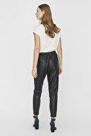Vero Moda Kadın Siyah Bağlamalı Kaplama Pantolon 10205737 VMEVA