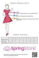 SpringStore Kadın  Kırmızı Tek Omuz Ince Saten Abiye