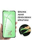 TEKNOPARKTA Iphone Xs Iphone X Seramik Nano Esnek Tam Full Kaplayan Kırılmaz Cam Ekran Koruyucu