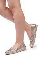 Freemax Gold Günlük Comfortable Kadın Babet Ayakkabı