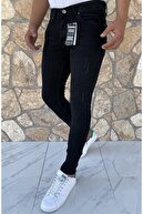 Dr Dnm Remix Erkek Jeans Skinny Fit Likralı Siyah Tırnaklı