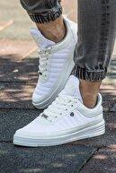 L.A Polo 077 Beyaz Beyaz Summer Erkek Spor Ayakkabı