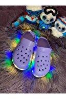 Akınalbella Tabanı Renkli Işıklı Çocuk Terliği