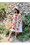 Begüm Kadın Nova Hasır Rengi Plaj Çantası