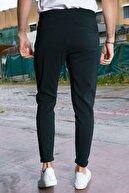 Sateen Men Erkek Siyah Jogger Pantolon