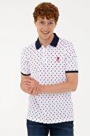 US Polo Assn Beyaz Erkek T-Shirt