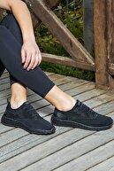 Jump Kadın Siyah Günlük Ortopedik Spor Ayakkabı  24897