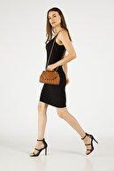 Etka Çanta Kadın Taba Nakışlı Mini Gissle Çanta