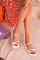 Soho Exclusive Beyaz Kadın Sandalet 16376