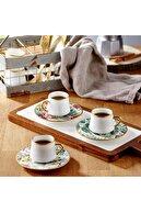Koleksiyon Ev ve Mobilya Dervish Kulplu Çay Seti 6'lı Amazon Ekvator