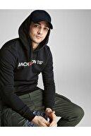 Jack & Jones Jjecorp Old Logo Sweat Hood Noos Erkek Sweatshirt