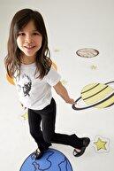 Defacto Kız Çocuk Ispanyol Paça Örme Pantolon