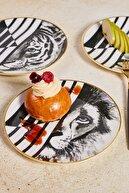Karaca Tiger 6 Kişilik Pasta Takımı