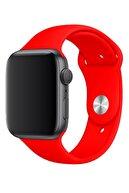 Apple Watch 2 3 4 5 6 Se Nike 42mm 44mm Uyumlu Kordon Kayış Bileklik Klasik Kaliteli Spor Silikon Band