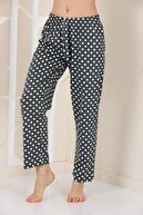 Arvin Kadın Haki Puanlı Pijama Altı