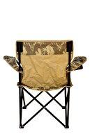 KAPLANLAR Kamp Sandalyesi - Kamuflaj Açık Yeşil