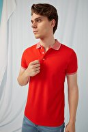 Fashion Friends Polo Yaka T-shirt Kırmızı