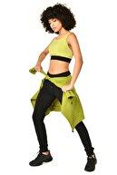 bilcee Yeşil Kadın Sporcu Sütyeni - Bra Hs-8795