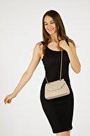 Etka Çanta Kadın Vizon Nakışlı Mini Gissle Çanta