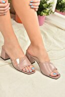 Fox Shoes Gül Kurusu Kadın Terlik